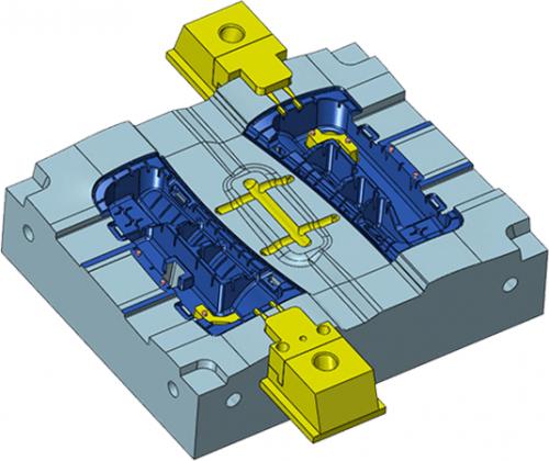 Spezial Werkzeuge für die Formkonstruktion