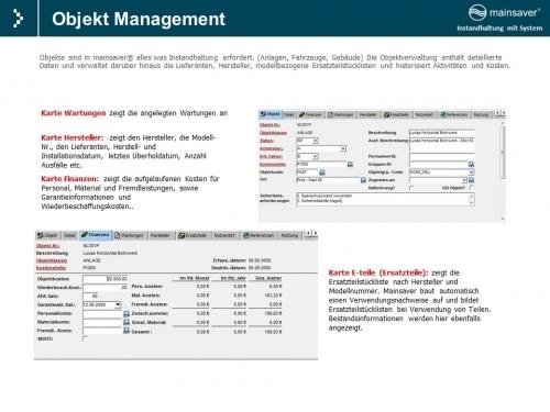 Objekt Management