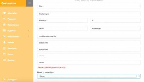 4. Produktbild Gastronizer - die Softwarelösung für die Gastronomie