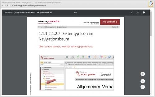 Benutzerdokumentation - online Handbuch