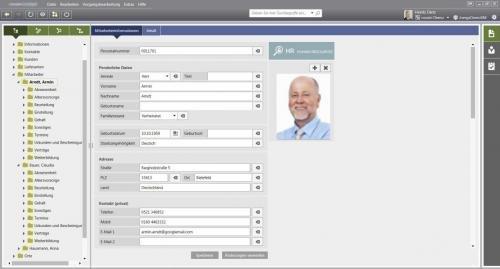 Die digitale Personalakte: Das Modul HR