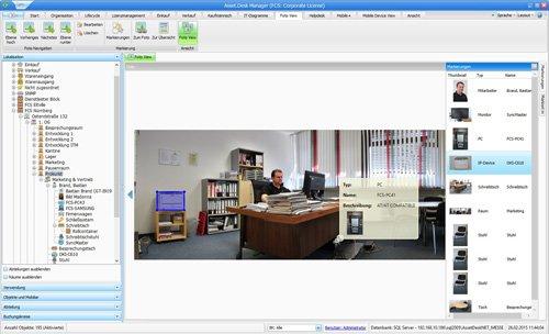 12. Produktbild Asset.Desk - Foto View