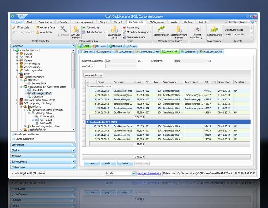 Software: Asset.Desk - Inventarisierung Lizenzverwaltung IT Asset ...