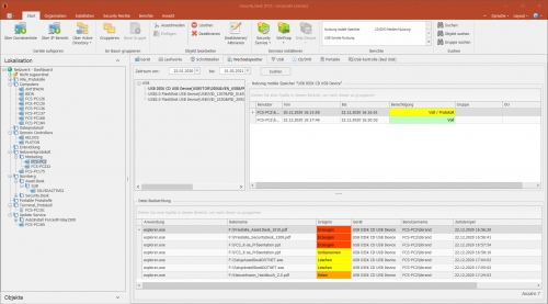 """Ansicht """"FCS-PC2"""" in der Managementkonsole"""