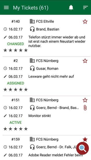 7. Produktbild HEINZELMANN Service Desk - FCS HEINZELMANN App