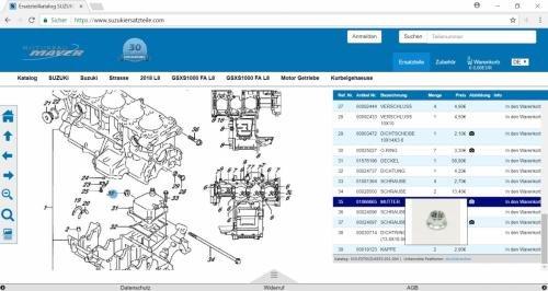 9. Produktbild door2parts - Ersatzteilkatalog, eCommerce und Shop Lösung