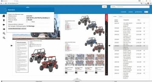 1. Produktbild door2parts - Ersatzteilkatalog, eCommerce und Shop Lösung
