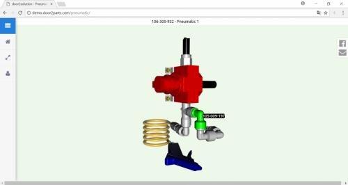 3. Produktbild door2parts - Ersatzteilkatalog, eCommerce und Shop Lösung