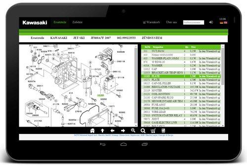 7. Produktbild door2parts - Ersatzteilkatalog, eCommerce und Shop Lösung