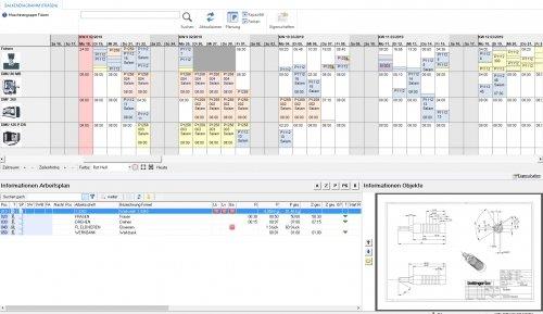 Planung mit Arbeitsplan