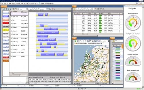 ORTEC Service Planning
