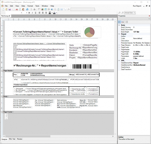 UniERM-Reportdesigner