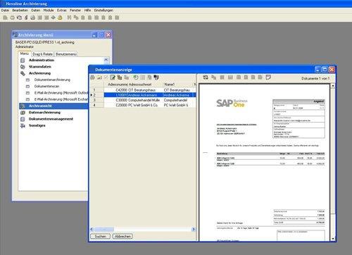 2. Produktbild Archiv.Net - digitale Archivierung und Dokumentenmanagement