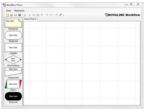 Workflow für Archiv.One: Planer