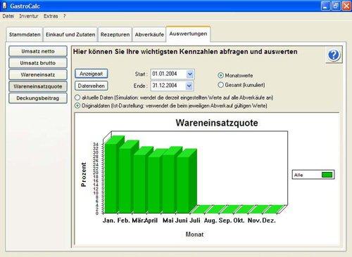 8. Produktbild GastroCalc - Gastromiesoftware