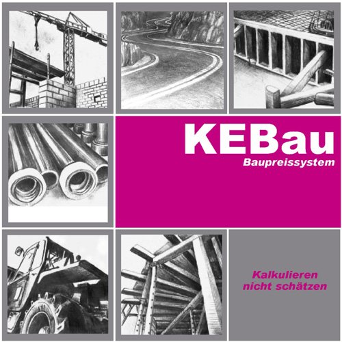 1. Produktbild KEBau Baupreissystem - für die Baukalkulation