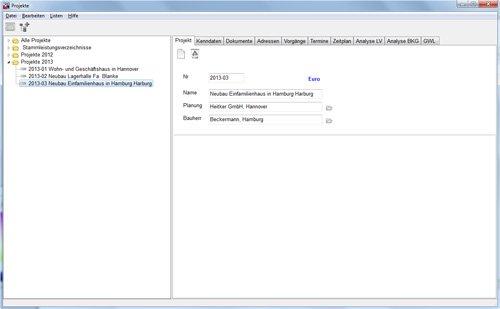 2. Produktbild HEITKER  AVA  ASBwin - Ausschreibungssoftware