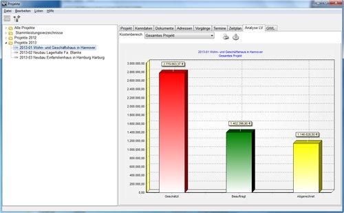 3. Produktbild HEITKER  AVA  ASBwin - Ausschreibungssoftware