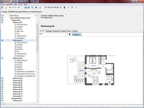 7. Produktbild HEITKER  AVA  ASBwin - Ausschreibungssoftware