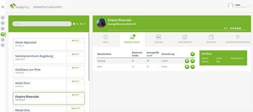 2. Produktbild simplyOrg - Software zur Organisation von Seminaren