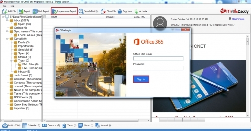 login-to-office365-for-impersonate-export