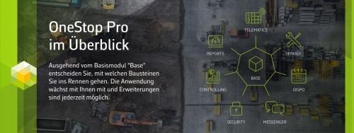 OneStop Pro im Überblick