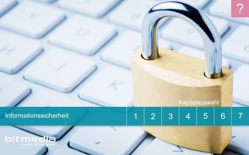 Startscreen Informationssicherheit