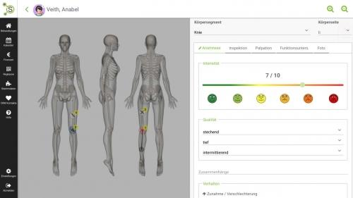 elektronisch Patientenakte und Behandlung-Dokumentation
