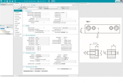 Vollständiges Dokumentenmanagementsystem mit Integration ins ERP-System