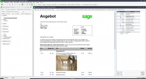 2. Produktbild Sage 50 Handwerk - Handwerkersoftware
