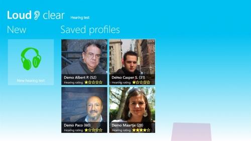 Saved profiles