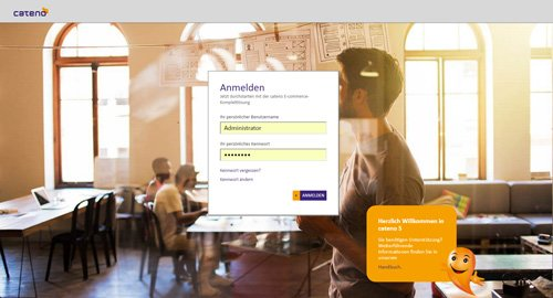 1. Produktbild cateno Warenwirtschaftssystem - E-Commerce-Komplettlösung
