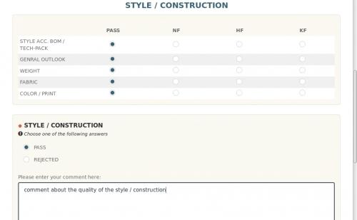 Style / Konstruktion