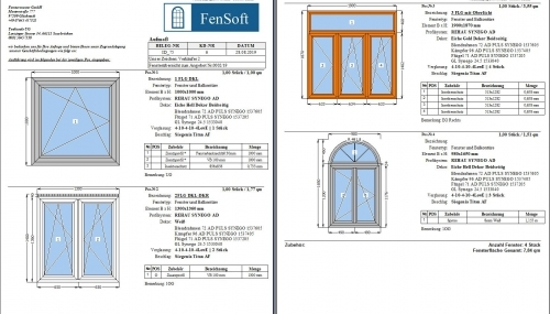Fenster Bestellung bei Lieferanten