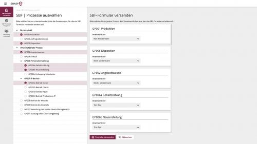ISMS: Formular zur Schutzbedarfsfeststellung