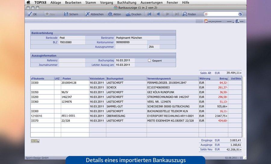 3. Produktbild TOPIX:8 Zahlungsverkehr und Banking