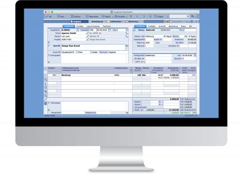 TOPIX Auftragsabwicklung - Angebot erstellen