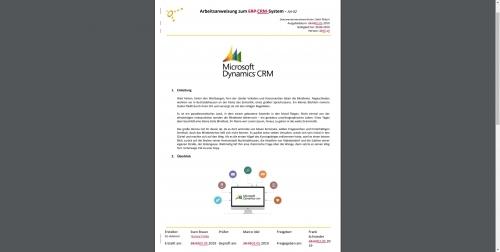 Freigabe- und Lenkungsprozess: Automatische erstellte Vergleichsdokumente im sycat-IMS-Portal