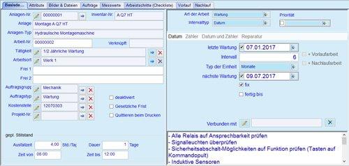 3. Produktbild MaintMan - Instandhaltungssoftware