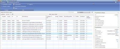3. Produktbild ERP-Branchen-Software: amProject für den Maschinen- / Anlagenbau