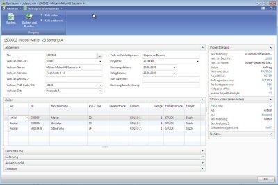 5. Produktbild ERP-Branchen-Software: amProject für den Maschinen- / Anlagenbau