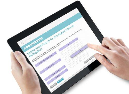 1. Produktbild Inquery Survey Server - Software für betriebliche Befragungen