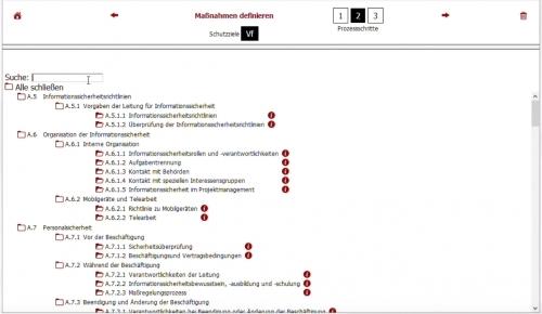 Maßnahmen-Katalog