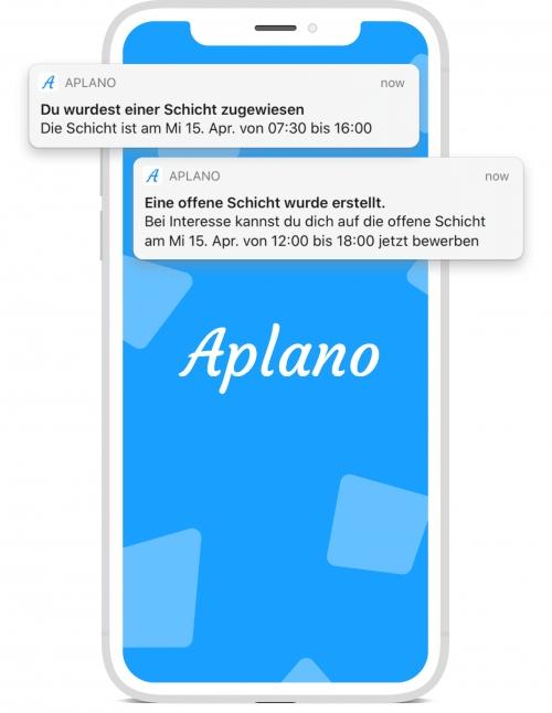 Benachrichtigungen per App