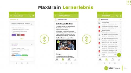 MaxBrain Lernerlebnis