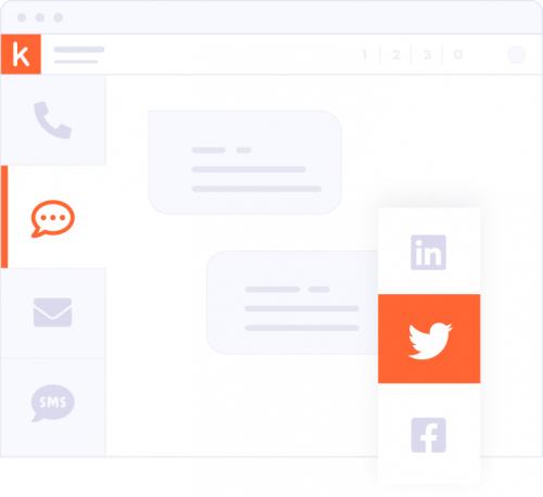 Kiwi Benutzeroberfläche