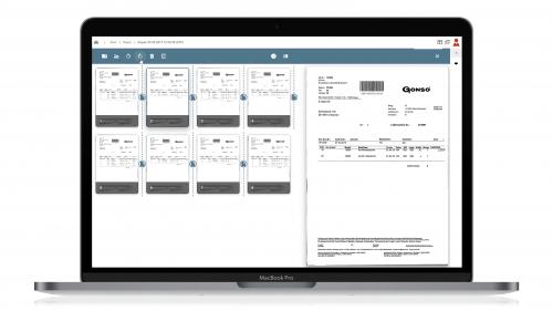 d.velop inbound scan App
