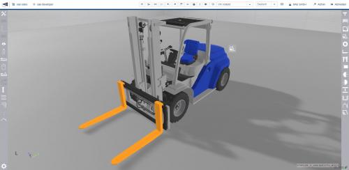 Konfiguration in 3D