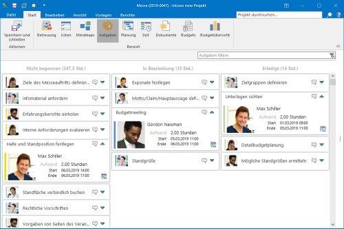 InLoox für Outlook - Kanban