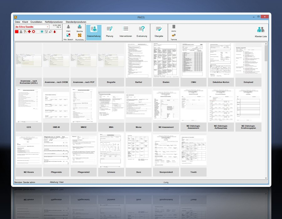 1. Produktbild PMDS - Pflege-Management und Dokumentationssystem